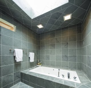 Homeowners get a pampered experience in the wet room.