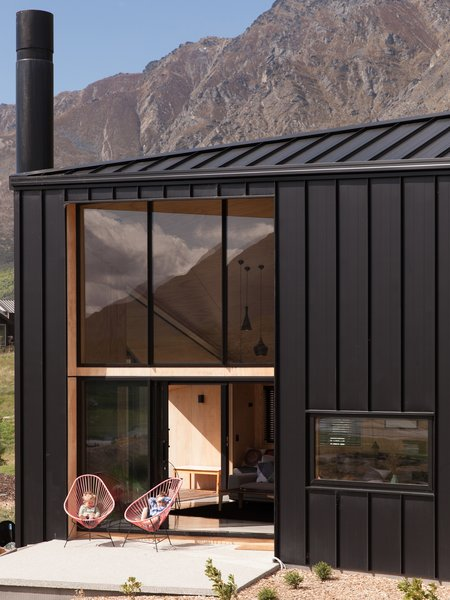 The profile is also a reference to rural sheds common throughout the countryside.