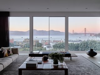 Here is a glimpse of the mesmerizing views the home frames of the surrounding Bay Area.