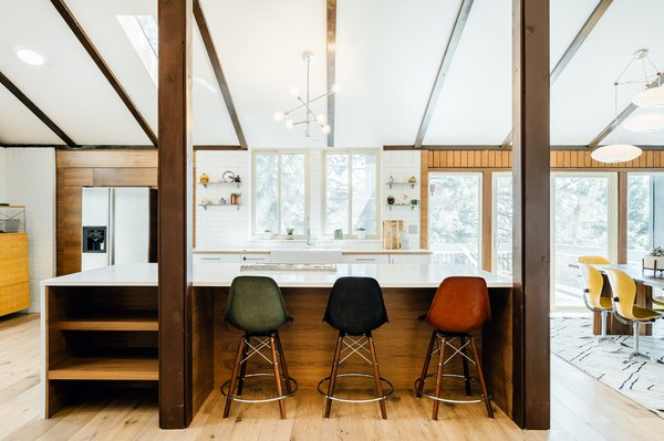 The current resident is the owner of Tomorrow's House, a popular Salt Lake City midcentury furniture shop.