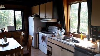 Before the renovation, the kitchen was dark, cramped, and in desperate need of updates.