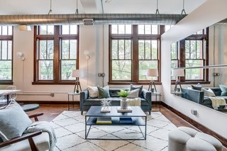 Grab This Dazzling Detroit Loft in a Historic School Building For $450K