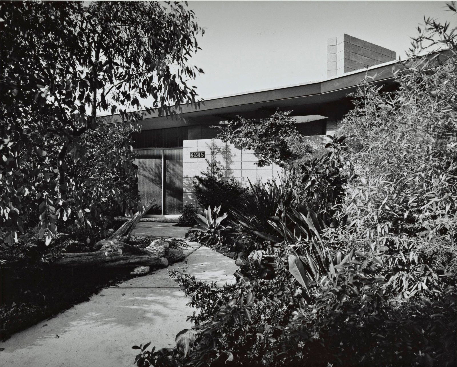 Exterior, Mid-Century Building Type, and House Building Type A look at the home circa the era in which it was built.  Photo 9 of 13 in A 1958 Midcentury With Stunning L.A. Views Lists For $2.2M
