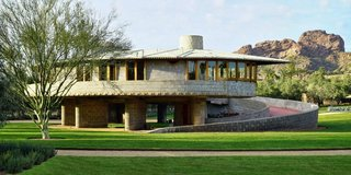 The David and Gladys Wright House is considered FLW's last residential masterpiece.