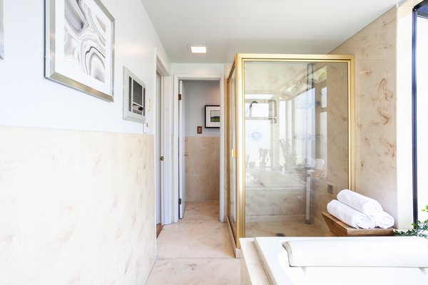 One of the home's two bathrooms.