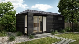 Here, Plant Prefab partnered with LivingHomes, one of the top sustainable home design firms in the nation, on the LivingHome AD1, a versatile Accessory Dwelling Unit (ADU) designed to fit either in backyards, or as a main structure on an empty lot. The LivingHome AD1 was designed to be flexible and comes in various finish options.