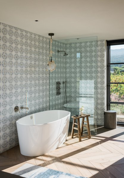 Windows Allow Natural Light To Filter Into The Space And Also Provide  Guests With Views Of. The Bathroom Has A Simple ...