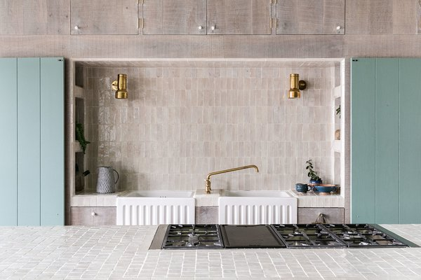 Delicate attention to detail and bespoke elements defines the kitchen.