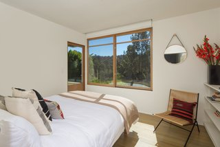 The second bedroom also features outdoor access.