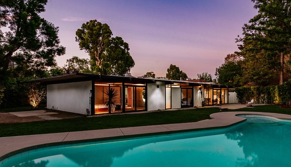 Clean lines and lots of midcentury charm help make this home a special find.