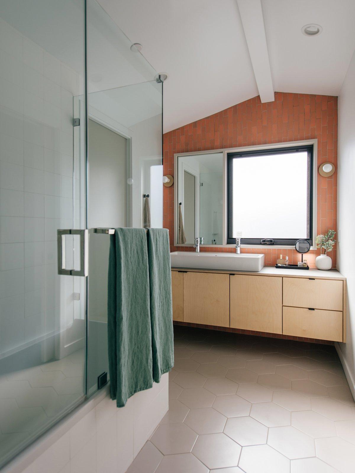 After: Farjo Residence master bathroom