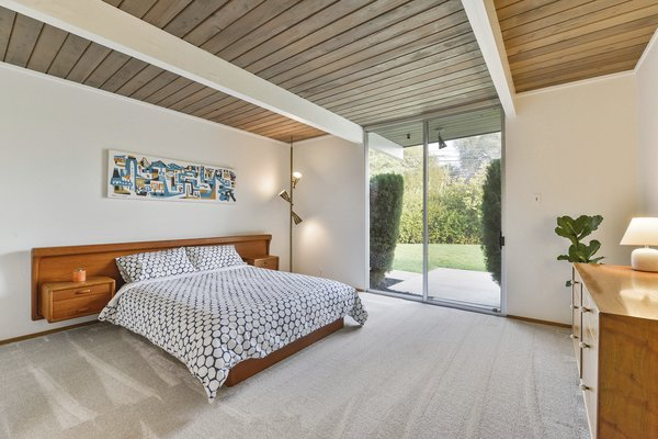 The home has four bedrooms plus a separate utility room that can be used as a fifth bedroom or office.