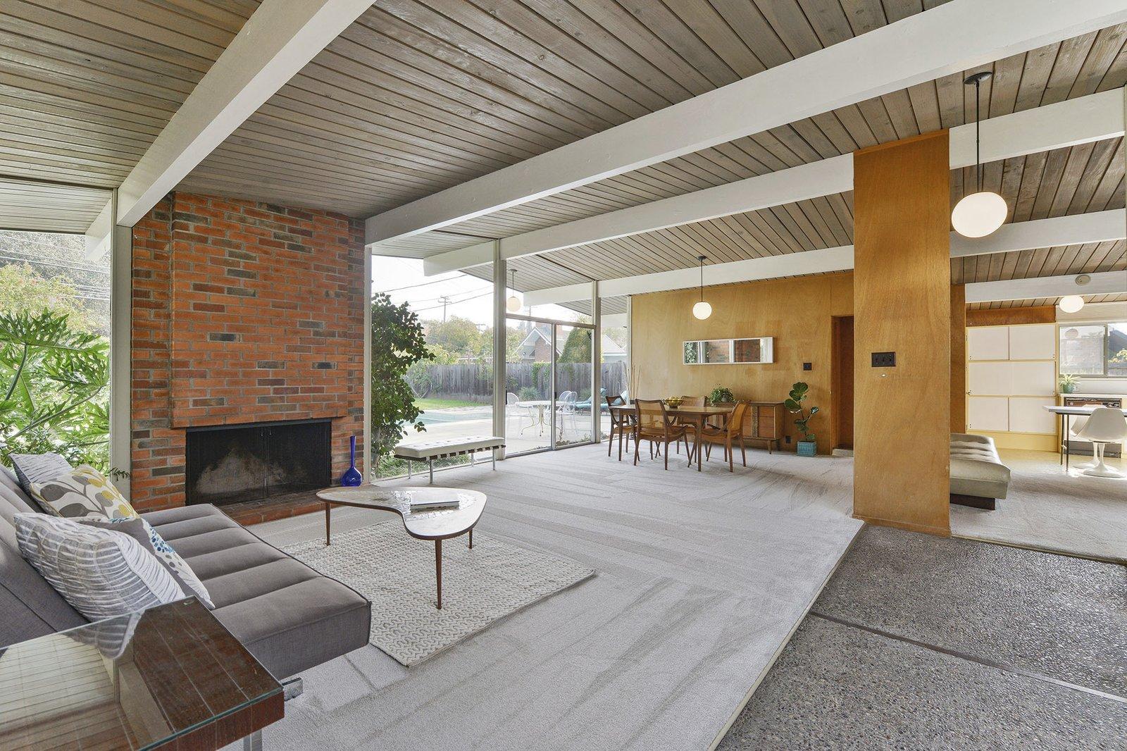 3767 Barrington Drive Eichler living room