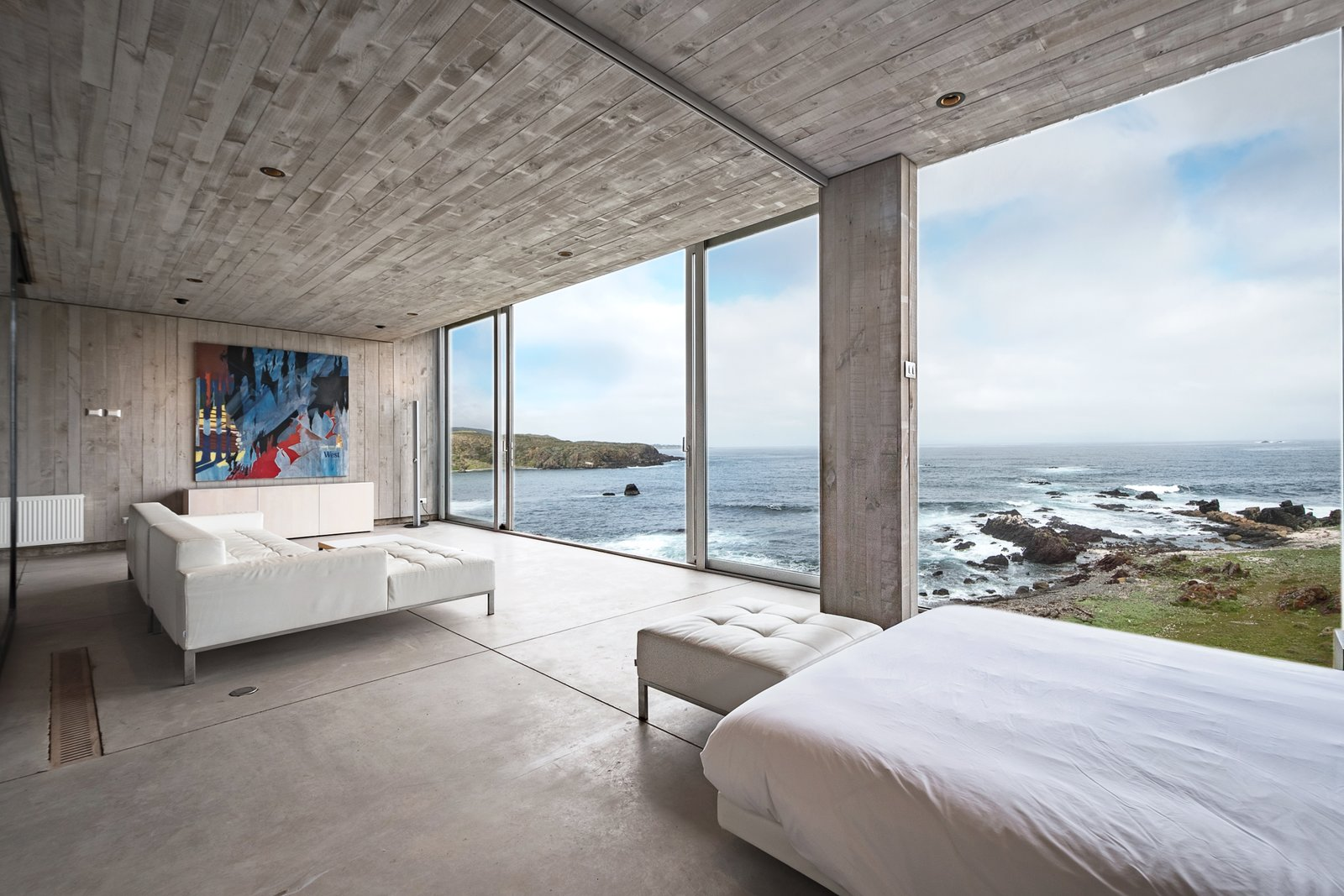 Casa OchoQuebradas bedroom with ocean views