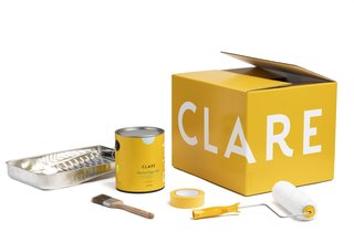 Clare's sleek modern packaging has a strong visual appeal.