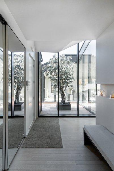 Best 60 Modern Hallway Light Hardwood Floors Design Photos