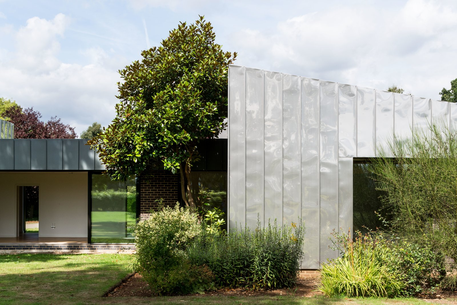 Eashing House stainless steel exterior