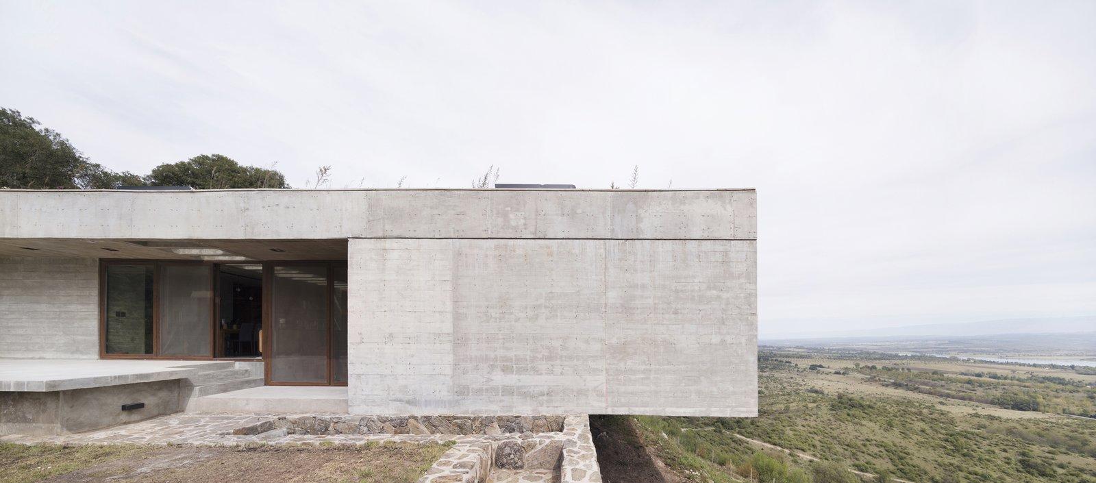 Casa FM concrete home exterior