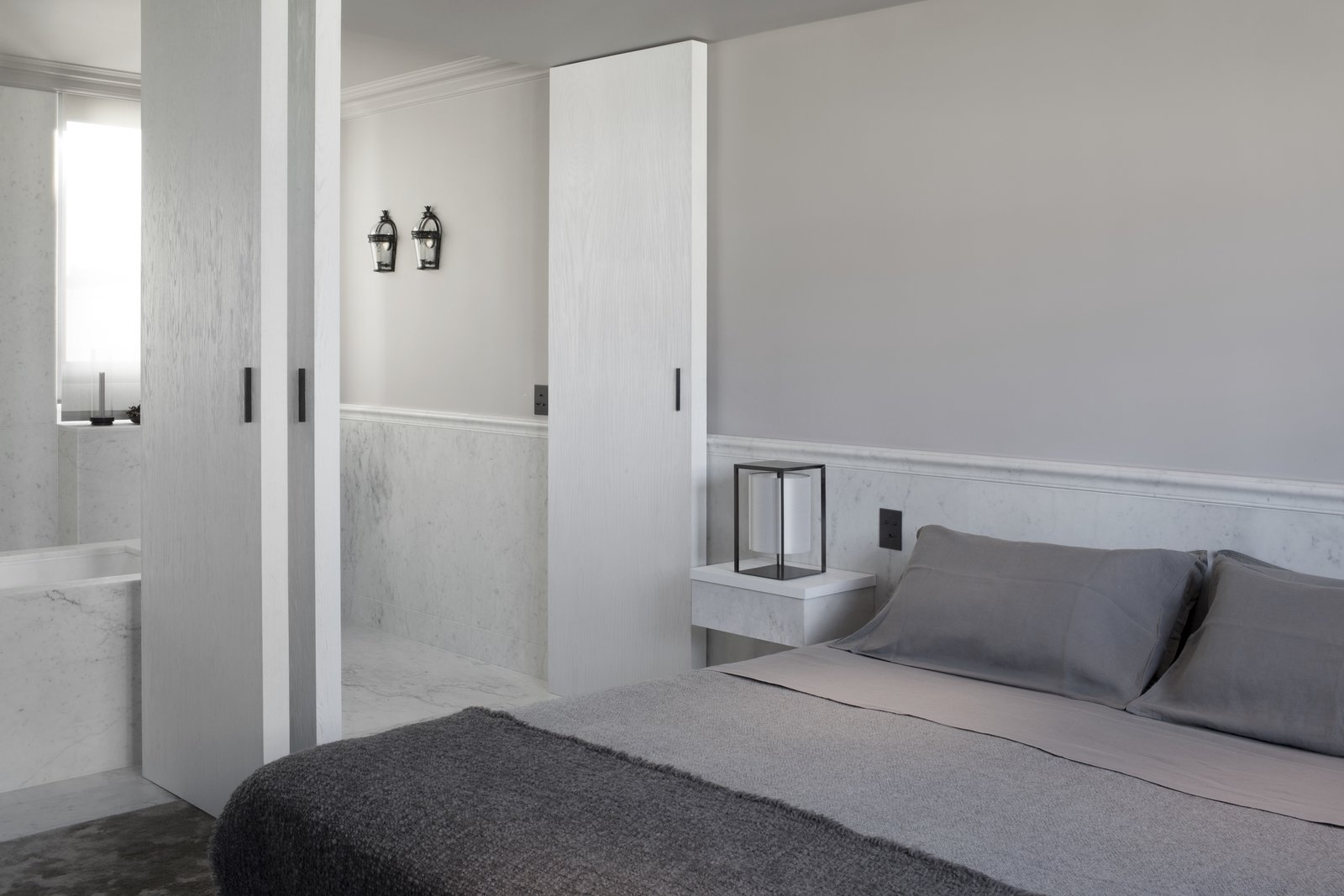 Kennedy Apartment Paris master bedroom