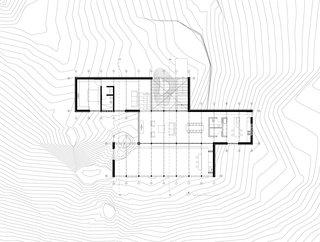 Site plan for Casa JB
