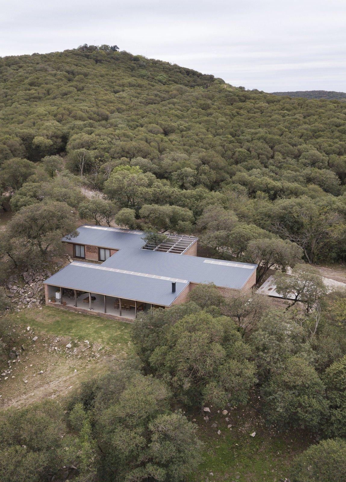 Casa JB overhead view