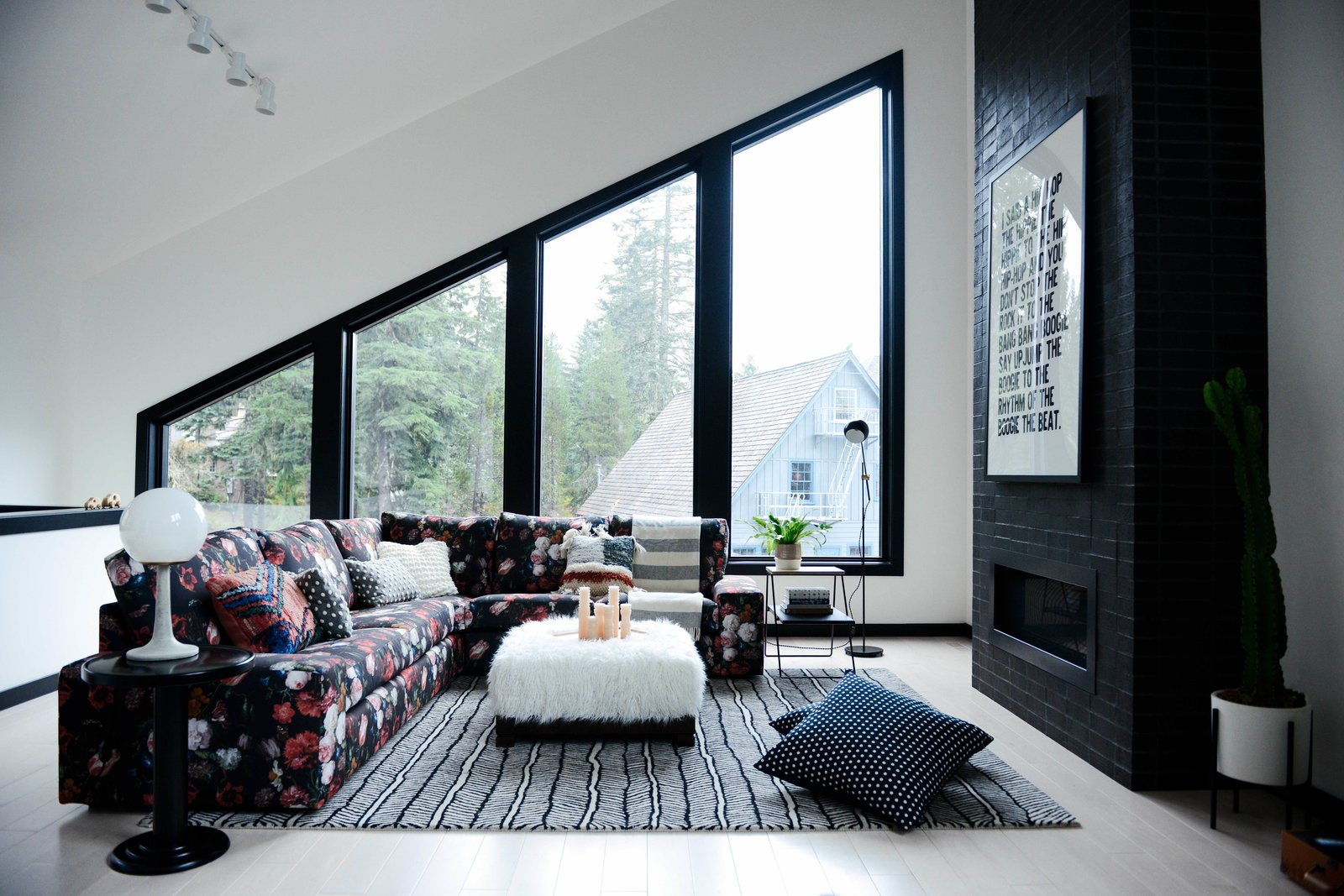 Alpine Noir living room