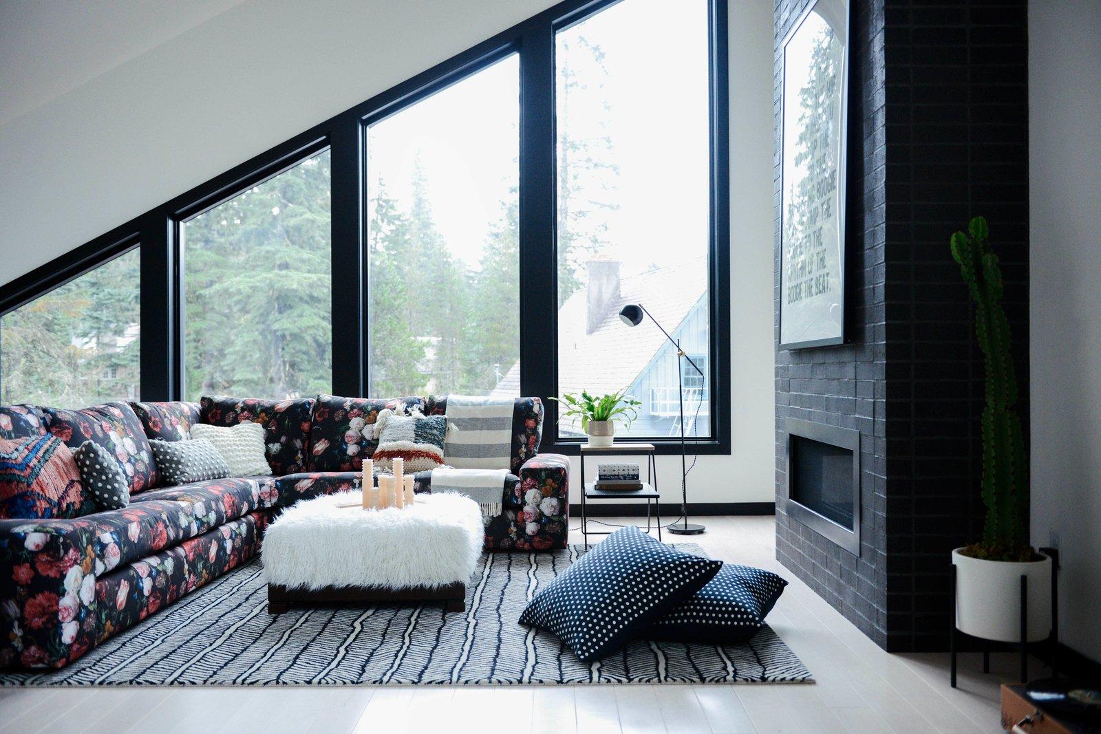 Alpine Noir living room