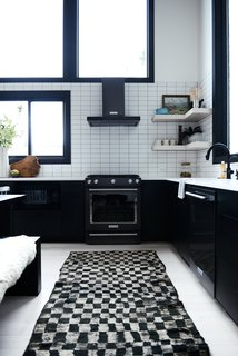 The kitchen rug is from Kat + Maouche.