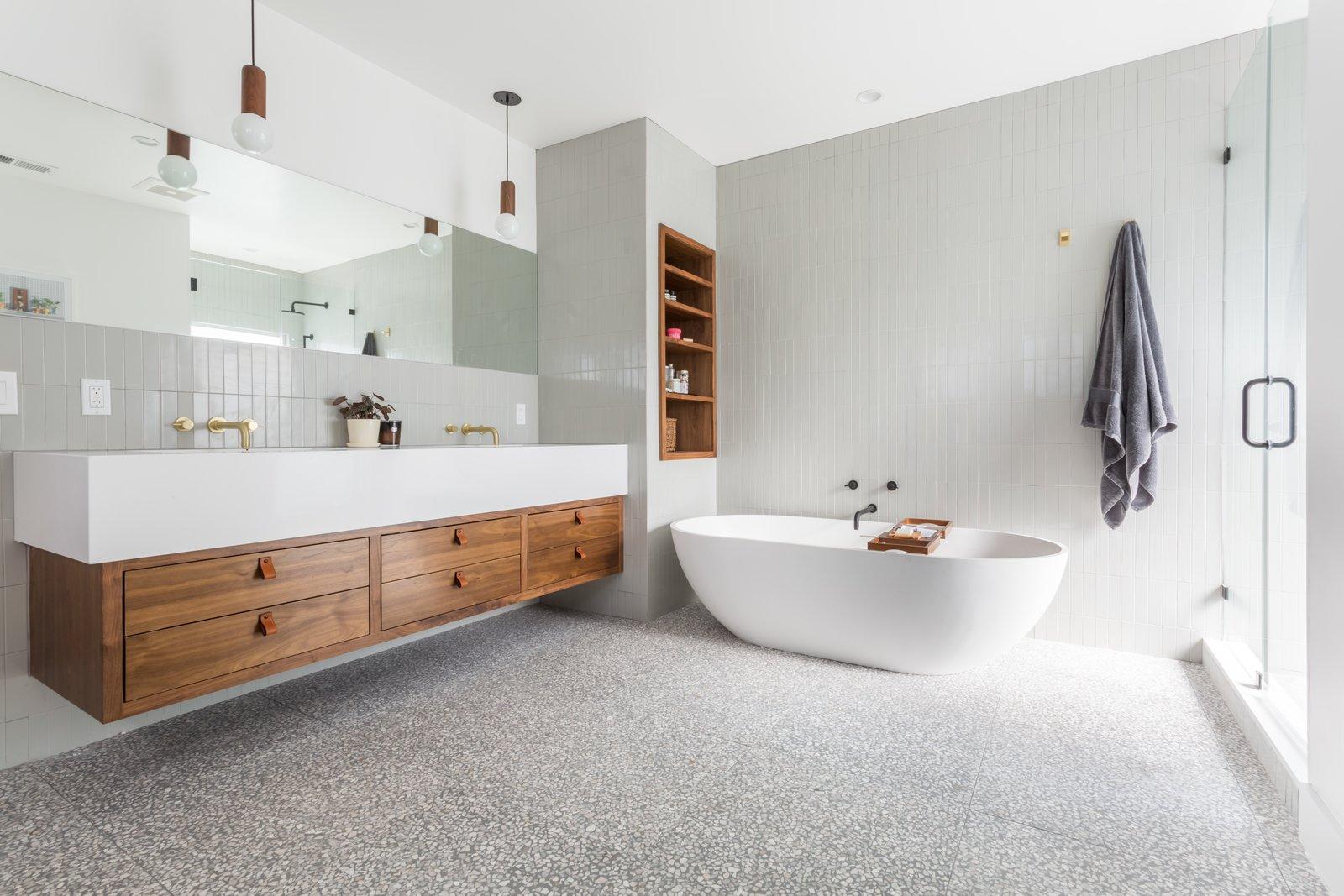 After: bel air remodel master bathroom