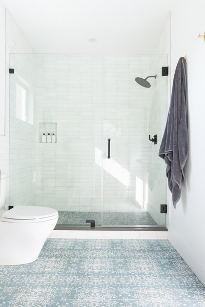 Cle Tile S Farmhouse Brick Wall Tiles Line The Shower Omaha Floor From
