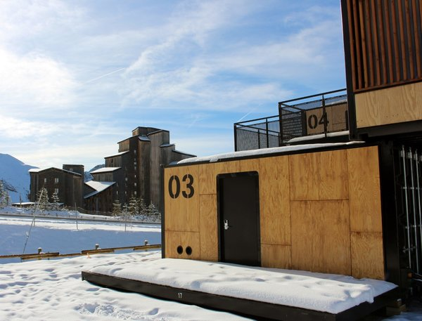 The Flying Nest's current incarnation is called Avoriaz 1800—a reference to the hotel's location at 1,800 meters above sea level.