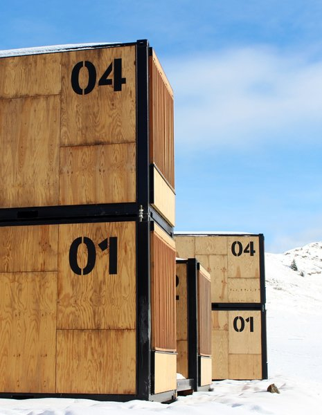French hotel group AccorHotels road tested the Flying Nest in various locations. The nomadic rooms will sit at the ski resort until the end of March.