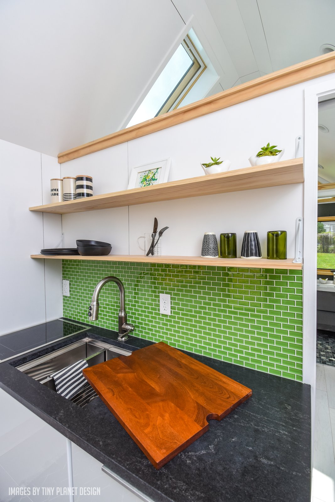 Roost26 Tiny House kitchen