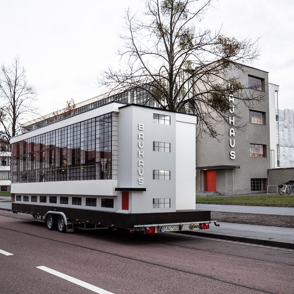 Designed by Bauhaus founding director Walter Gropius, the school embodies the movement's core principles and values.