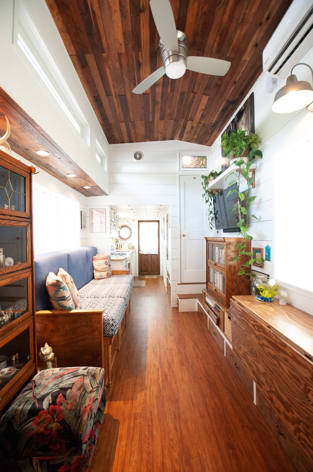 Her Tiny Home interior
