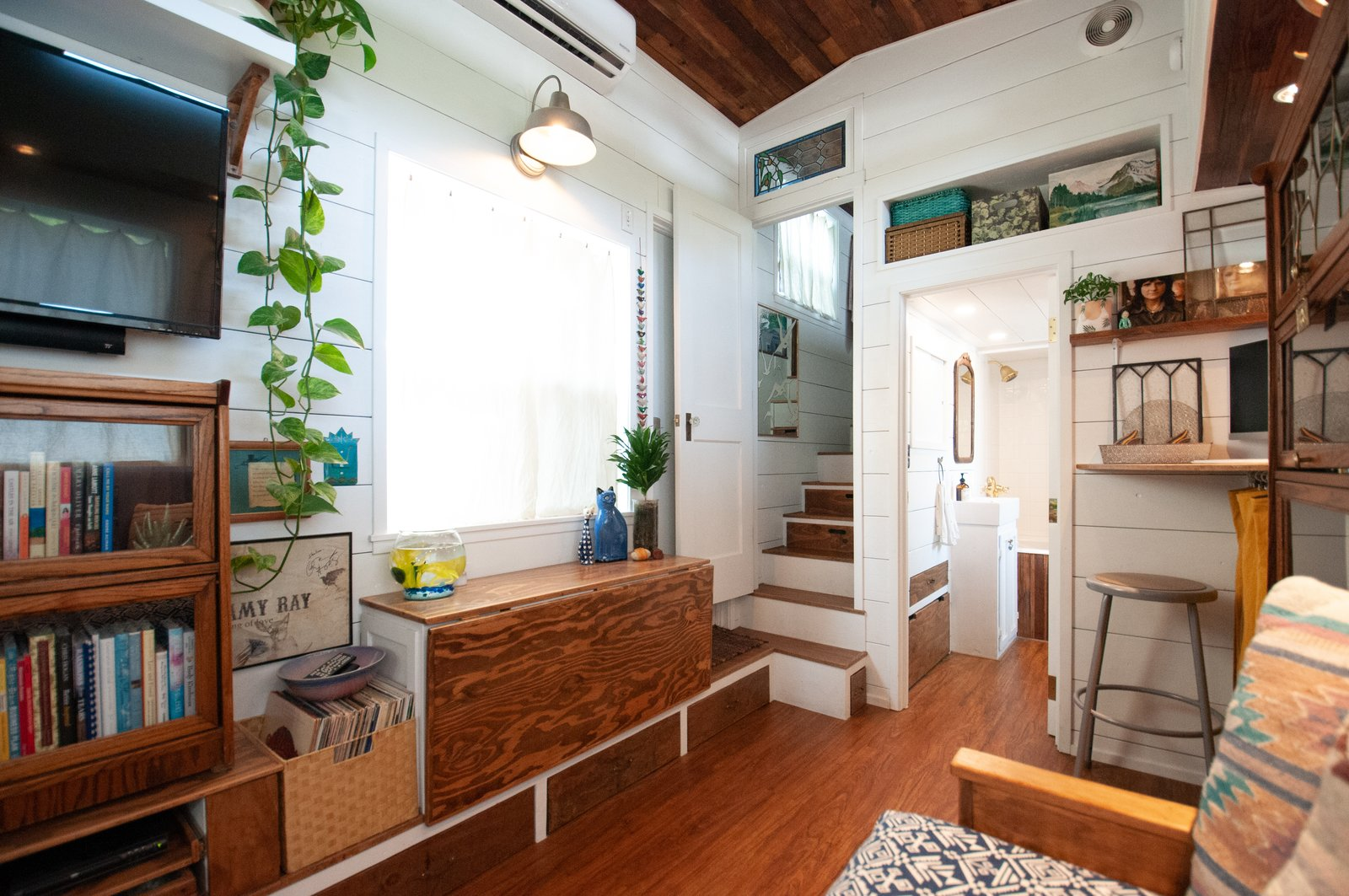 Her Tiny Home living area