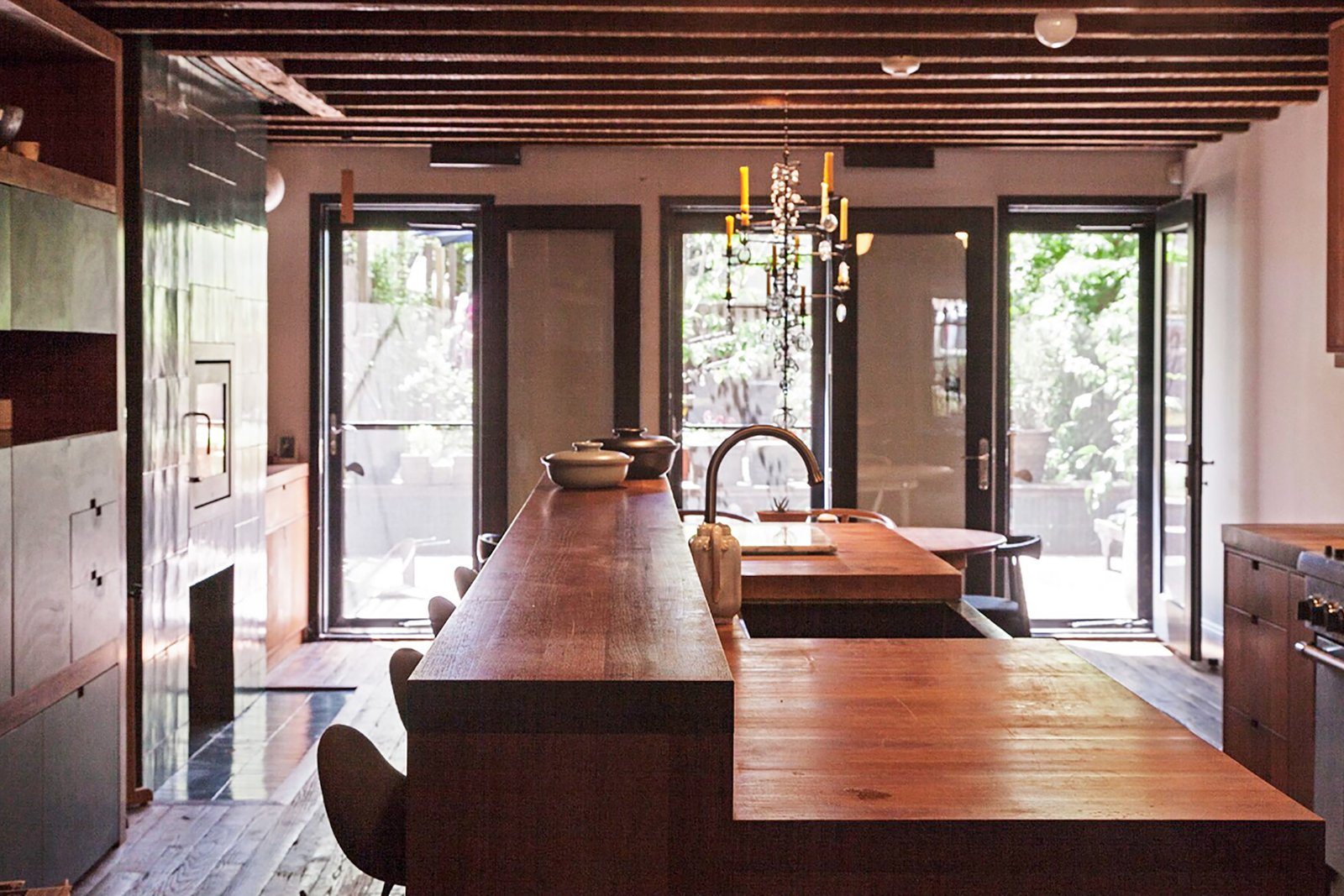 Maggie Gyllenhaal and Peter Sarsgaard's Park Slope Townhouse kitchen