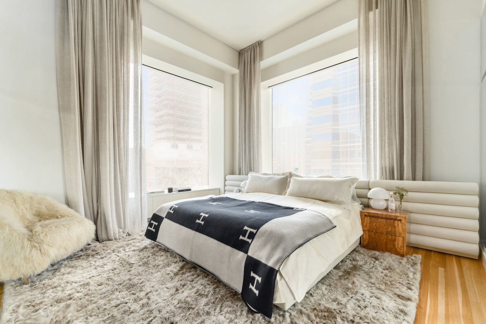 J.Lo and A-Rod's 432 Park Avenue apartment master bedroom