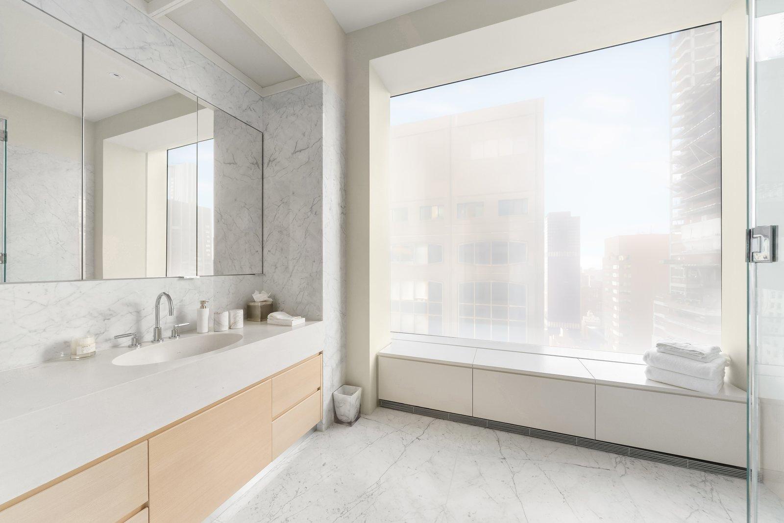 J.Lo and A-Rod's 432 Park Avenue apartment bathroom