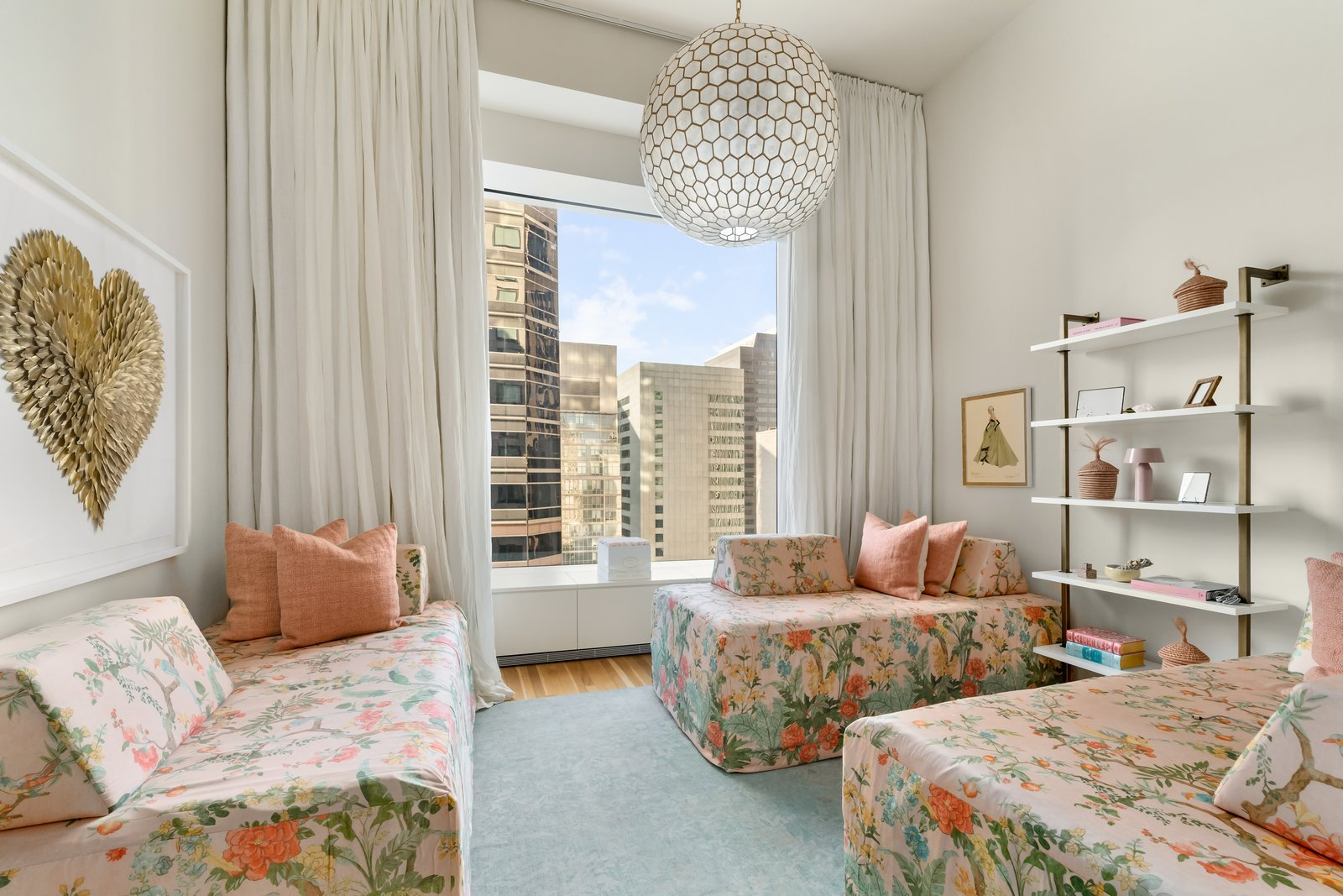 J.Lo and A-Rod's 432 Park Avenue apartment bedroom