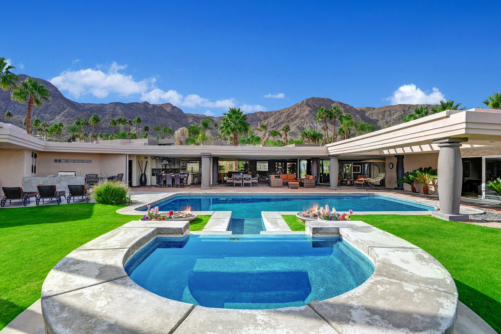 Bing Crosby Rancho Mirage home pool