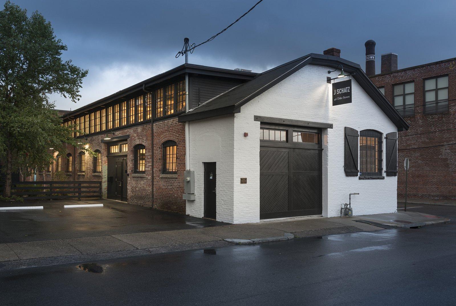Dye House Lofts exterior