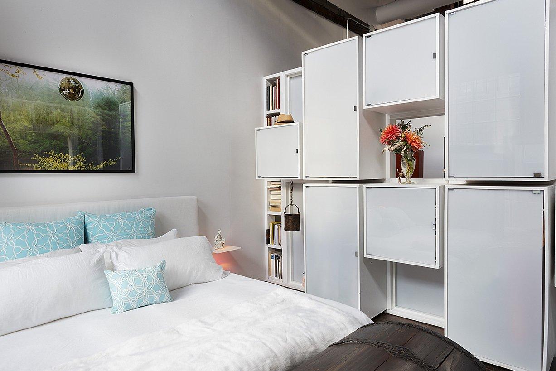 Dye House Lofts bedroom