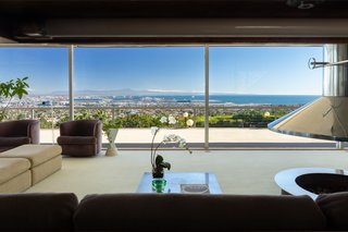 The stunning living room views hit you just as you enter.