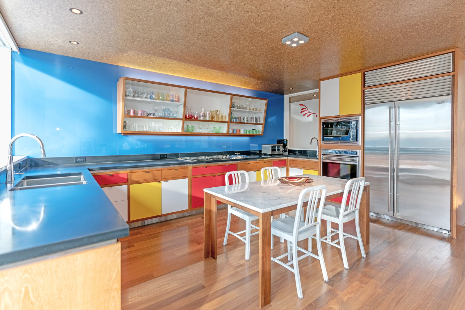 Gagarin House I Bauhaus kitchen