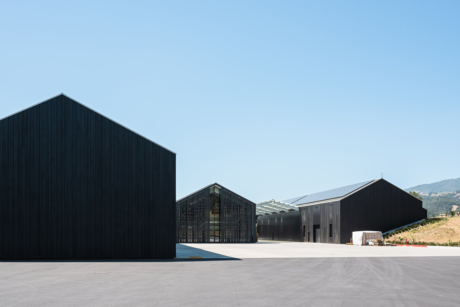 Silver Oak winery exterior
