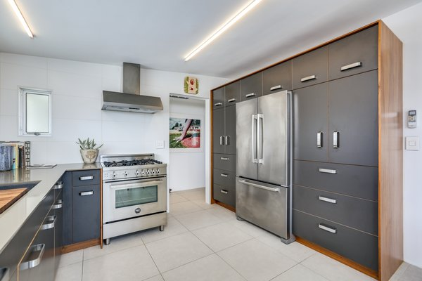 High-end appliances feature throughout the home.