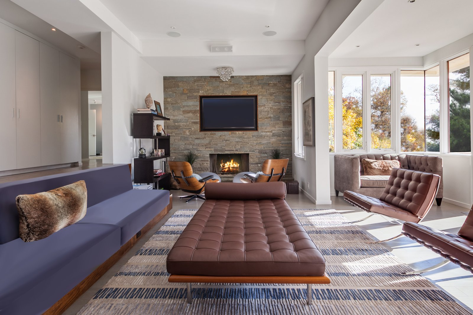 Eames Lounge Chair Living Room photo 1 of 188 in eames lounge chair and ottoman from an