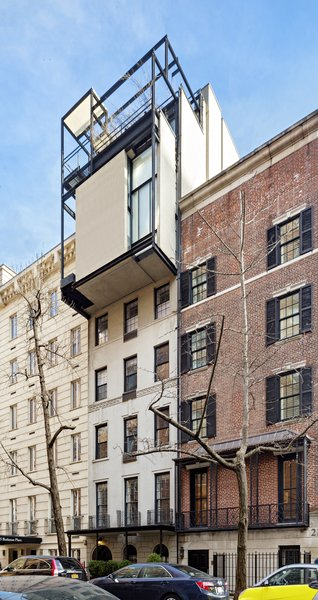 Superior With Four Levels And Five Private Terraces, The Penthouse Cantilevers Over  Beekman Place In Manhattan