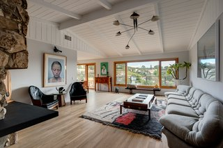 A Handsomely Updated Midcentury in the Hollywood Hills Wants $2.4M